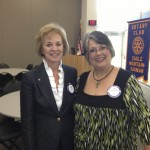 Rotary Induction, Eagle-Mountain-Saginaw Rotary Club, 2013